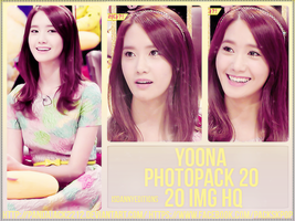 Yoona (GIRLS GENERATION) - PHOTOPACK #20 by LosingWar