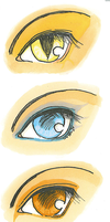 Manga Eyes by Ketsutsuki