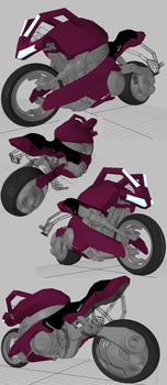 WIP :: uBike modeling08 by wh6b