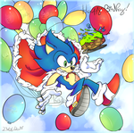 Happy 26th anniversary Sonic !! by Vickie4423