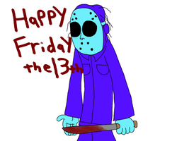 Happy Friday the 13th!!! by ogiemon