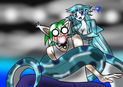 Its a SEA SNAAAAAKE! by SelanaireQueen