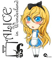 Chibi-Alice in Wonderland by AT-Studio