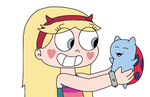 Star Butterfly with Catbug by SuperMarcosLucky96