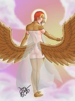 A Great View of an Angel by J-ZeroSK
