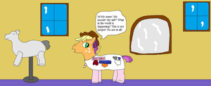 AJ and the english stylist pony pt.7 by thetrans4master