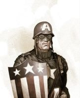 Captain America WWII by AlexPerkins