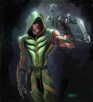 Smallville Green Arrow by DCU-Club