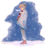 LoZ: Wintry Link by saltycatfish