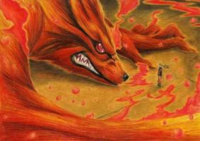 the nine tailed fox by breakingNYC