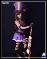 Caitlyn League of Legends by NastHh