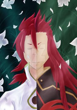 Tales of the Abyss - Asch + Luke by RedWolfStudios