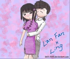 Lan Fan x Ling by Still-D0ll