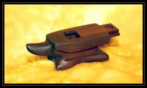 Anvil carving by beelzebubby