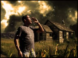 old house and me by axiacamous