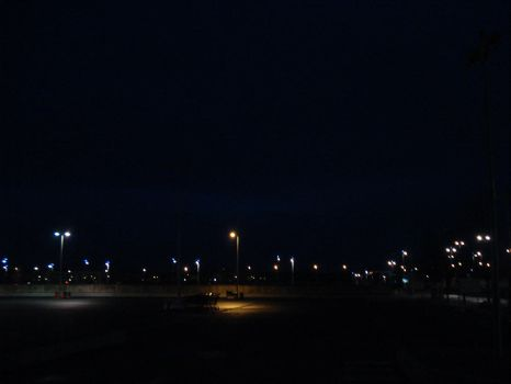 car park by night by rqp