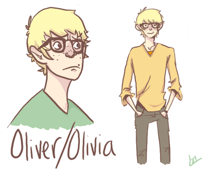 Oliver by cake-monster