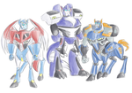 TFA - Monster UM and Primes by Rosey-Raven