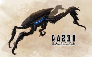 alien speed recon bug by razen-sketch
