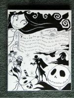 The Nightmare Before Christmas by Aeris-13
