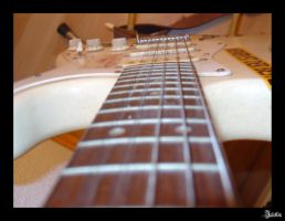While my guitar gently weeps by Jalokin