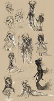 Mab Project Sketches by bluegirlwish