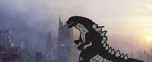 The savior of earth,the wounded king by GODZILLA2014MONSTER