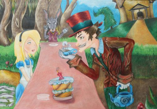 The Tea Party by mpckh2