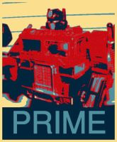 Obama Prime by LittleBigDave