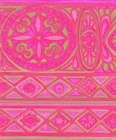 more vintage pink paper by Techture