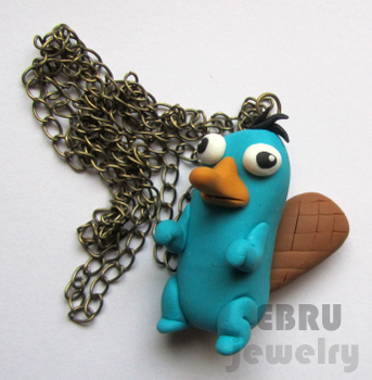 Perry the Platypus pendant by Lovely-Ebru