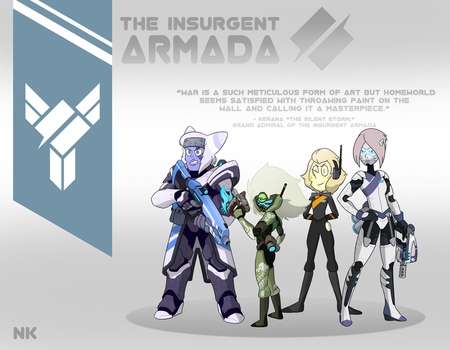 Torbernite's Insurgency: The Armada by TheGraffitiSoul