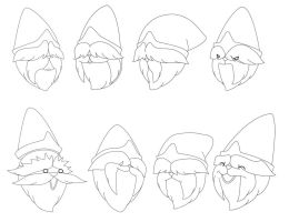 Glimly Facial Expressions by jooter