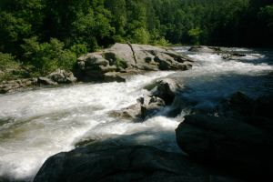 Bull Sluice Rapid Stock by GloomWriter