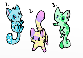 Kitty Adopts (4 Points Each) ~ CLOSED by AmyLovesPenguins