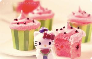 Watermelon hello kitty by OreGaOmaeOMamoru
