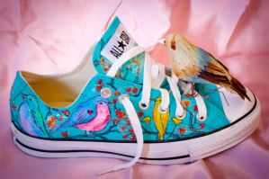 Bird Converse Second View by ChicaFromIpanema