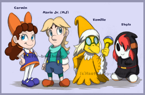 Super Mario Kids Troop by faster-by-choice