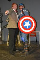 Stoke-Con-Trent 2014 (47) Dr.Who + Captain America by masimage
