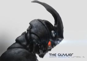 the guyver by derylbraun