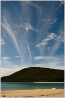 Clouds over Carlisle Island by wildplaces