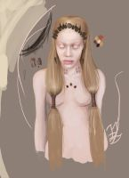 WiP: The Lotus Eaters- Huntress by sistermonoxide