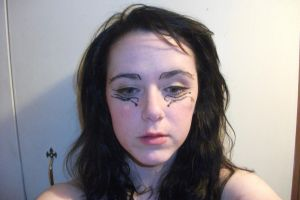 Judas inspired makeup 2 by ValkyrieGhost-Stock