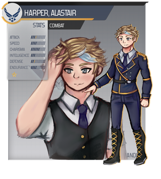 [C0s] Alastair Harper by Zephyras-Lied