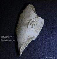 Clay pipe bowl fragment by natureguy
