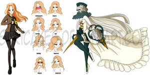 .::C::. Persona 4 Ref by SakiCakes