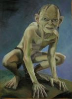 Gollum 2 by KainTheVampireLord