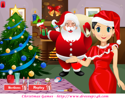 Christmas Sara Makeover Games by willbeyou