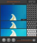 LED Screen Pattern 1.0 by Sed-rah-Stock