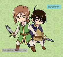 Young Warriors by Ask-AusHun